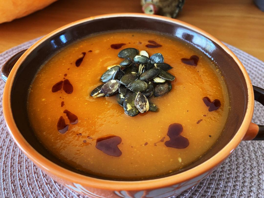 Kremowa zupa dyniowa