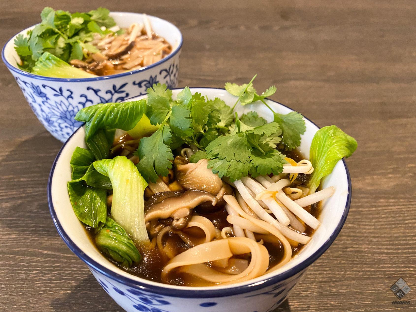 Zupa z shitake i Pak Choi